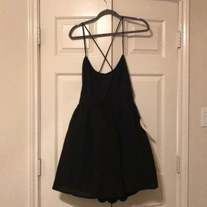 Low back mini dress